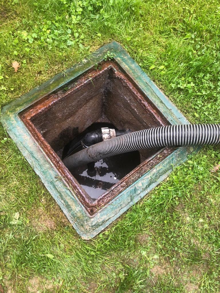 Image Curage / Pompage fosse septique