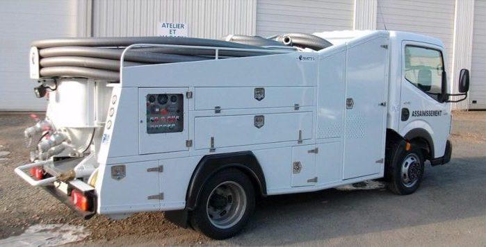 Photo camion hydrocureur